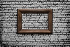 Old wall with a scope Royalty Free Stock Photos