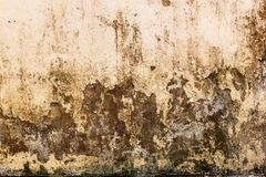 Old wall stain background Royalty Free Stock Photo
