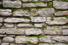 Old wall from a stone Royalty Free Stock Photos
