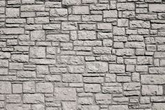 Old wall from a stone brick of beige color Stock Image