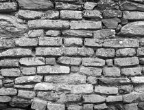 Old wall of stone bricks background. Old wall of stone bricks textured background Stock Photos