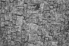 Old wall of stone bricks textured Royalty Free Stock Photo