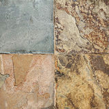 Old wall stone Cladding tiles patterns handcraft from thailand public Stock Image