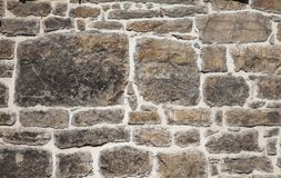 Old wall in stones Royalty Free Stock Photo