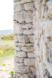Old wall with stones. Royalty Free Stock Photo