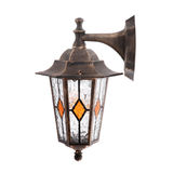 Old wall street lamp Stock Photography