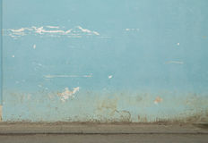 Old wall. In the streets of Havanna Royalty Free Stock Photography