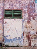 Old wall with swollen paint. Royalty Free Stock Photos