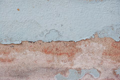 Old wall texture. Close up peeling paint wall background Royalty Free Stock Photography