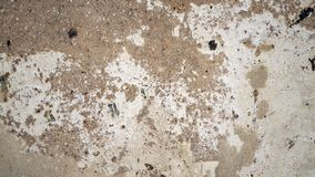 Old wall texture. The old cement walls look like the moon`s surface. Cement wall background. stock image
