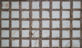 Old wall tiles Stock Photography