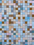 Old wall tiling - exterior. Stock Images