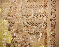 Old wall vintage pattern. Background Stock Photo
