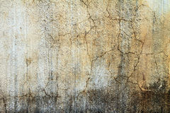 Old wall white color concrete Royalty Free Stock Image