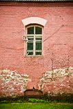 Old wall with window Royalty Free Stock Image