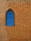 Old wall  and windows Royalty Free Stock Photos