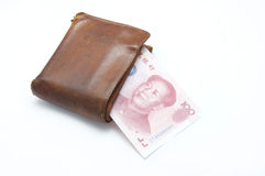 The old wallet Royalty Free Stock Photos