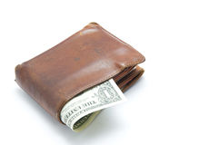 The old wallet Royalty Free Stock Photography