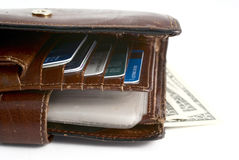Old Wallet Royalty Free Stock Photo