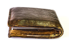 Old  wallet Royalty Free Stock Image