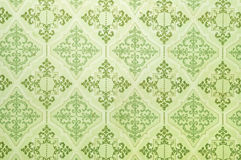 Old wallpaper Stock Photography