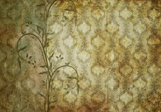Old wallpaper Stock Images