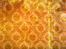 Old wallpaper. Background or texture of old wallpaper stock images