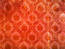 Old wallpaper. Background or texture of old wallpaper royalty free stock photo