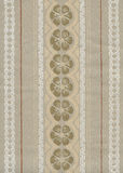 Old wallpaper. Retro papery wallpaper decoration detail Royalty Free Stock Photos