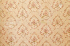 Old wallpaper background Royalty Free Stock Photography