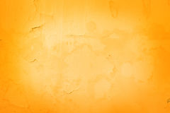 Old wallpaper on the cement background. Royalty Free Stock Photo