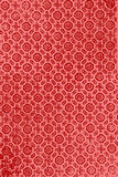Old wallpaper design. On red Stock Images