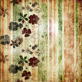 Old wallpaper texture Stock Image