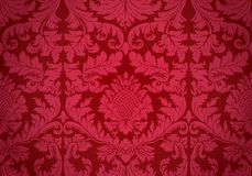 Old wallpaper. Vector. Royalty Free Stock Photo