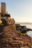 Old walls of Antibes Stock Photo