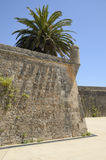 Old Walls of Cascais, Portugal Stock Image