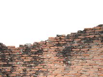 Old walls are cracked Royalty Free Stock Photo