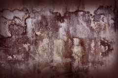 The old walls with dark red shades. Royalty Free Stock Image