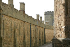 The old walls of the fortress Royalty Free Stock Photos