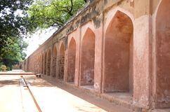 Old walls in India Stock Photo