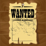A old wanted posters Stock Images