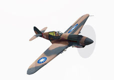 Old war airplane Royalty Free Stock Images