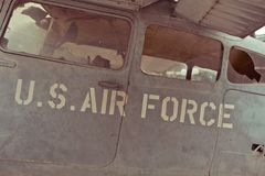 Old war Airplane Royalty Free Stock Photography