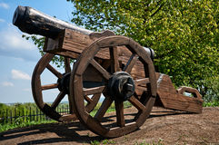 Old War Cannon Royalty Free Stock Image