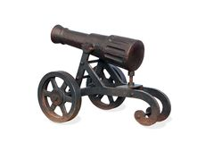 Old war cannon Royalty Free Stock Photo