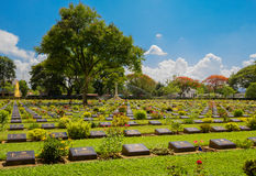 Old war Cemetery. Stock Photo