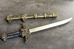 Old war knife Royalty Free Stock Photography