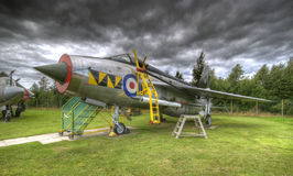 Old war plane Royalty Free Stock Photo