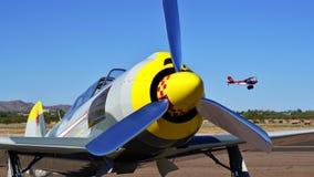 Old War Plane Stock Image