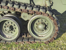 Old war tank Royalty Free Stock Image